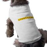 LIE STRONG pet shirt