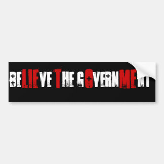 LIE TO ME BUMPER STICKERS