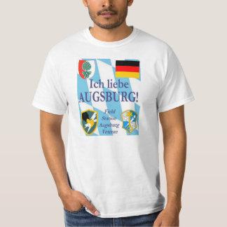 ¡Liebe Augsburg de Ich!  ¡Amo Augsburg! Playera
