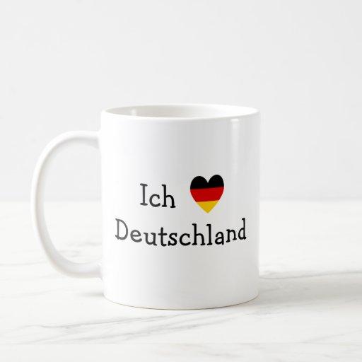 Liebe Deutschland de Ich Taza De Café