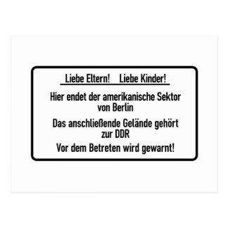 Liebe Eltern, Liebe Kinder, Berlin Wall, Germany S Postcard