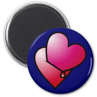 Liebe kann verletzen love can hurt 2 inch round magnet