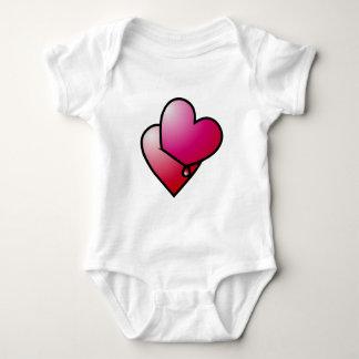 Liebe kann verletzen love can hurt baby bodysuit