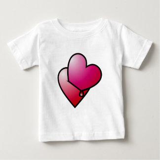 Liebe kann verletzen love can hurt baby T-Shirt