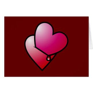 Liebe kann verletzen love can hurt card
