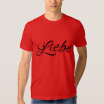 Liebe (Love) Men's American Apparel T-Shirt