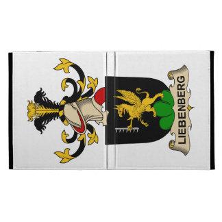 Liebenberg Family Crest iPad Folio Cases
