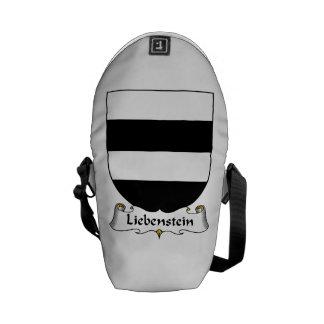 Liebenstein Family Crest Courier Bags