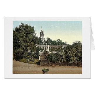 Liebichshohe, Breslau, Silesia, Germany (i.e., Wro Greeting Card