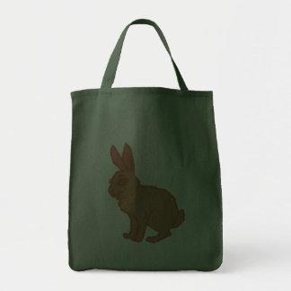 Liebre coneja rabbit hare bunny bolsa tela para la compra