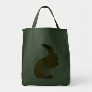 Liebre rabbit bolsa tela para la compra