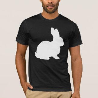 Liebres blancas Alicia del conejo en fiesta del Playera