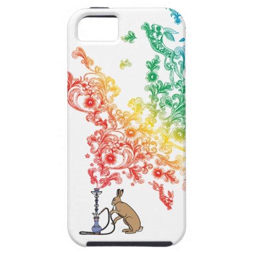 LIEBRES DE LA CACHIMBA iPhone 5 PROTECTORES