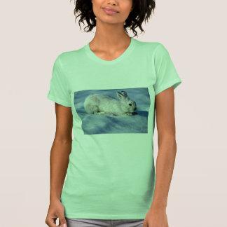 Liebres de variación/conejo de raqueta en nieve ab camiseta