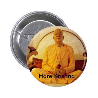 Liebres Krishna Pin Redondo De 2 Pulgadas