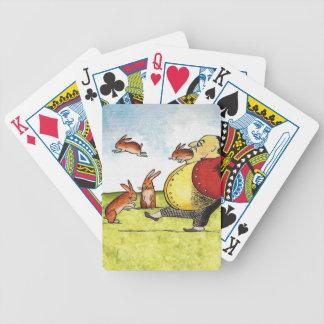 Liebres perdidas barajas de cartas