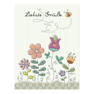 Liebste Grüße Postcards
