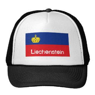 Liechenstein flag souvenir hat