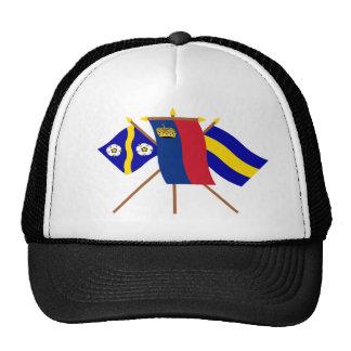 Liechtenstein and Gamprin Flags Trucker Hat
