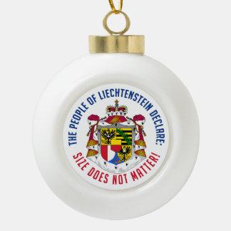 Liechtenstein Christmas ornament
