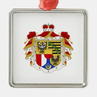Liechtenstein Coat of Arms Metal Ornament