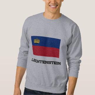Liechtenstein Flag Pullover Sweatshirt