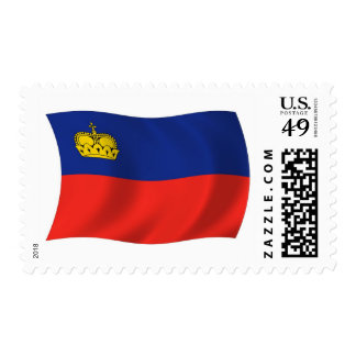 Liechtenstein Flag Stamps