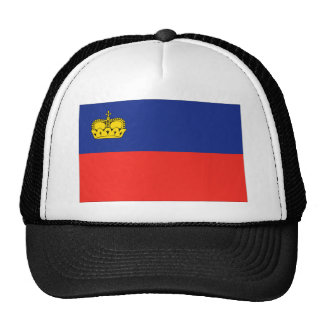 Liechtenstein Flag Trucker Hat