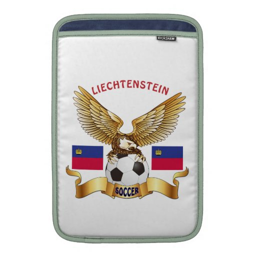Liechtenstein Football Designs MacBook Air Sleeve