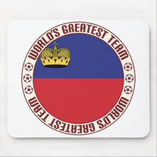 Liechtenstein Greatest Team Mouse Pad