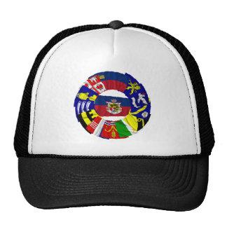 Liechtenstein & its Gemeinde Flags Trucker Hat