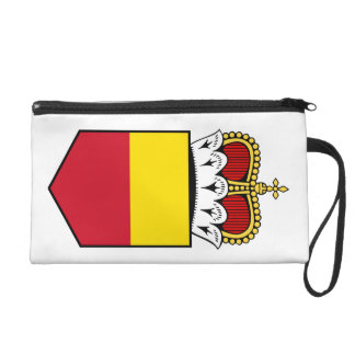 Liechtenstein Lesser Coat Of Arms Wristlet Clutches