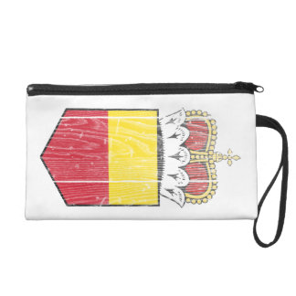 Liechtenstein Lesser Coat Of Arms Wristlet Purses