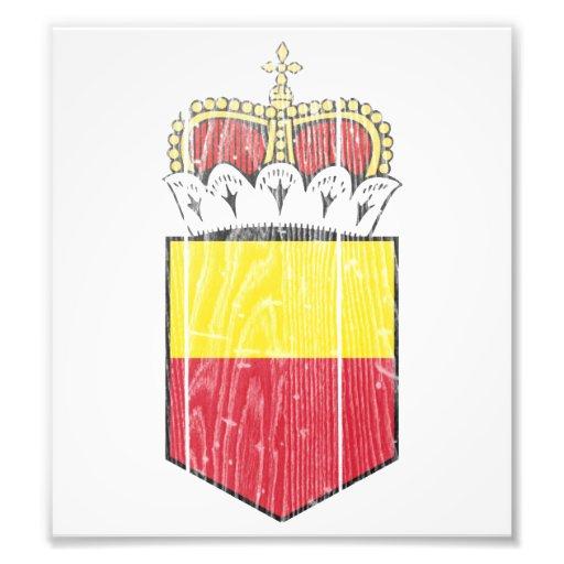Liechtenstein Lesser Coat Of Arms Photo Print