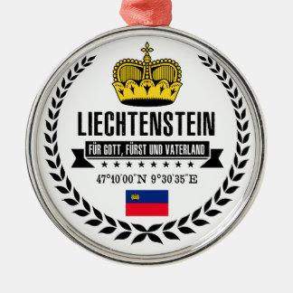 Liechtenstein Metal Ornament