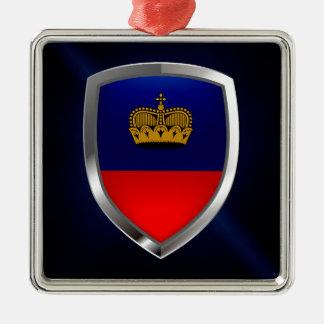 Liechtenstein Metallic Emblem Metal Ornament