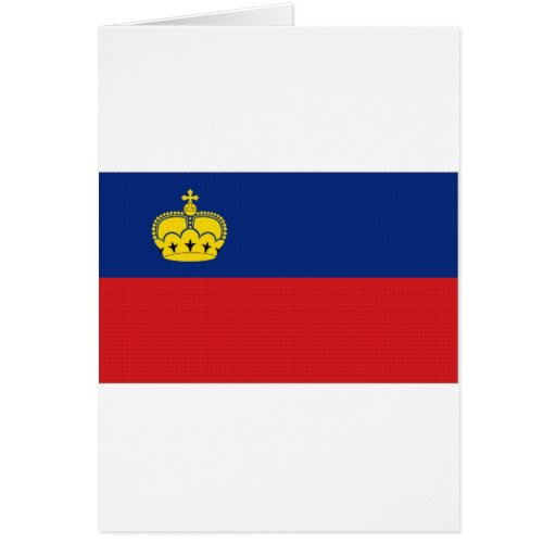 Liechtenstein National Flag Greeting Cards