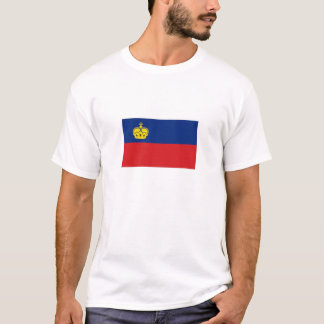 Liechtenstein National Flag T-Shirt