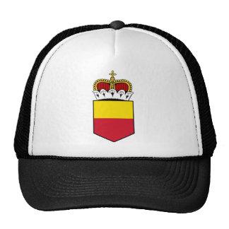 liechtenstein shield trucker hat