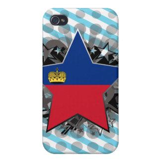 Liechtenstein Star Cover For iPhone 4