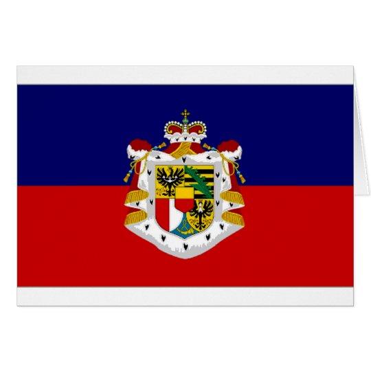 Liechtenstein State Flag Card