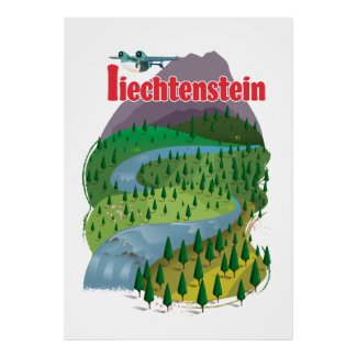 liechtenstein Travel poster