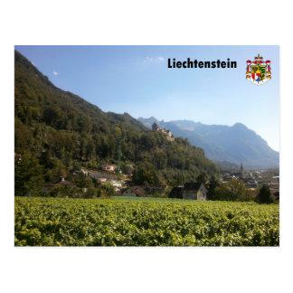 Liechtenstein with coats of arms/Liechtenstein wit Post Card