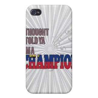 Liechtensteiner and a Champion Cover For iPhone 4
