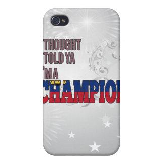 Liechtensteiner and a Champion iPhone 4 Cover