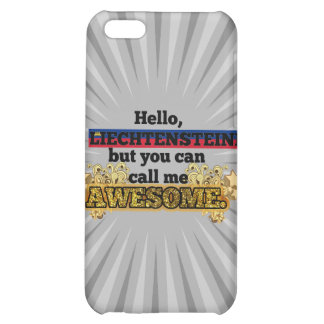Liechtensteiner, but call me Awesome iPhone 5C Cover