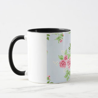 lief flowers design mug