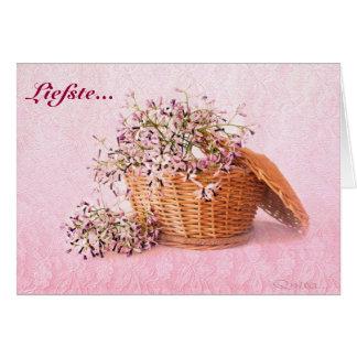 Liefste Groete-Kaartjie Card