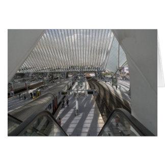 Liège-Guillemins railway station Card