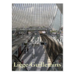 Liège-Guillemins railway station Postcard